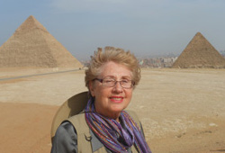 Jeri Castranova in Egypt
